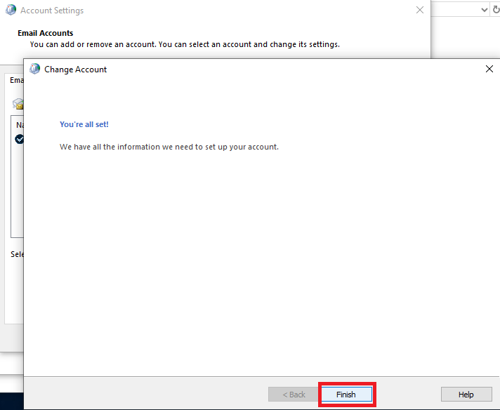 Adding a Shared Mailbox to Outlook 2019 - Help Centre